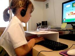 Teaching children to type